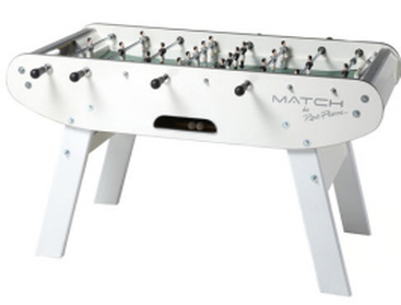 White Match Foosball Table