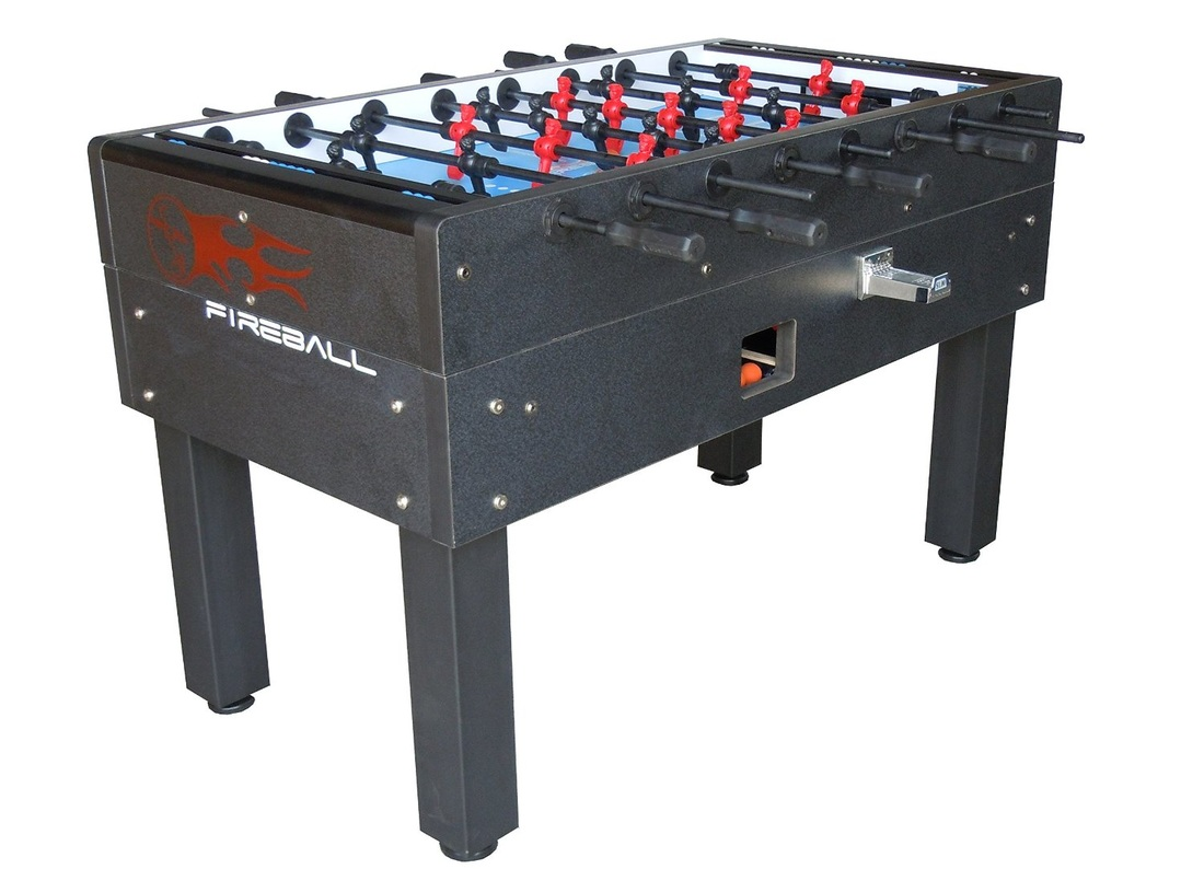 Fireball Foosball Table