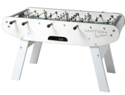Rene Pierre White Match Foosball Table