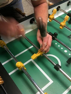 Replacing Foosball Man